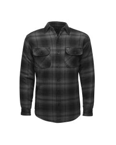 LUCKY 13 SHOCKER LINED FLANNEL - GREY/BLACK