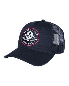 FAST AND LOUD TRUCKER HAT - ADJUSTABLE - BLACK